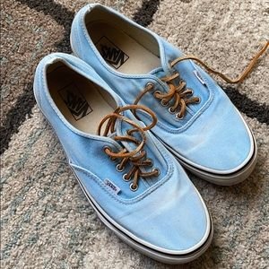 Men's blue Vans shoes
